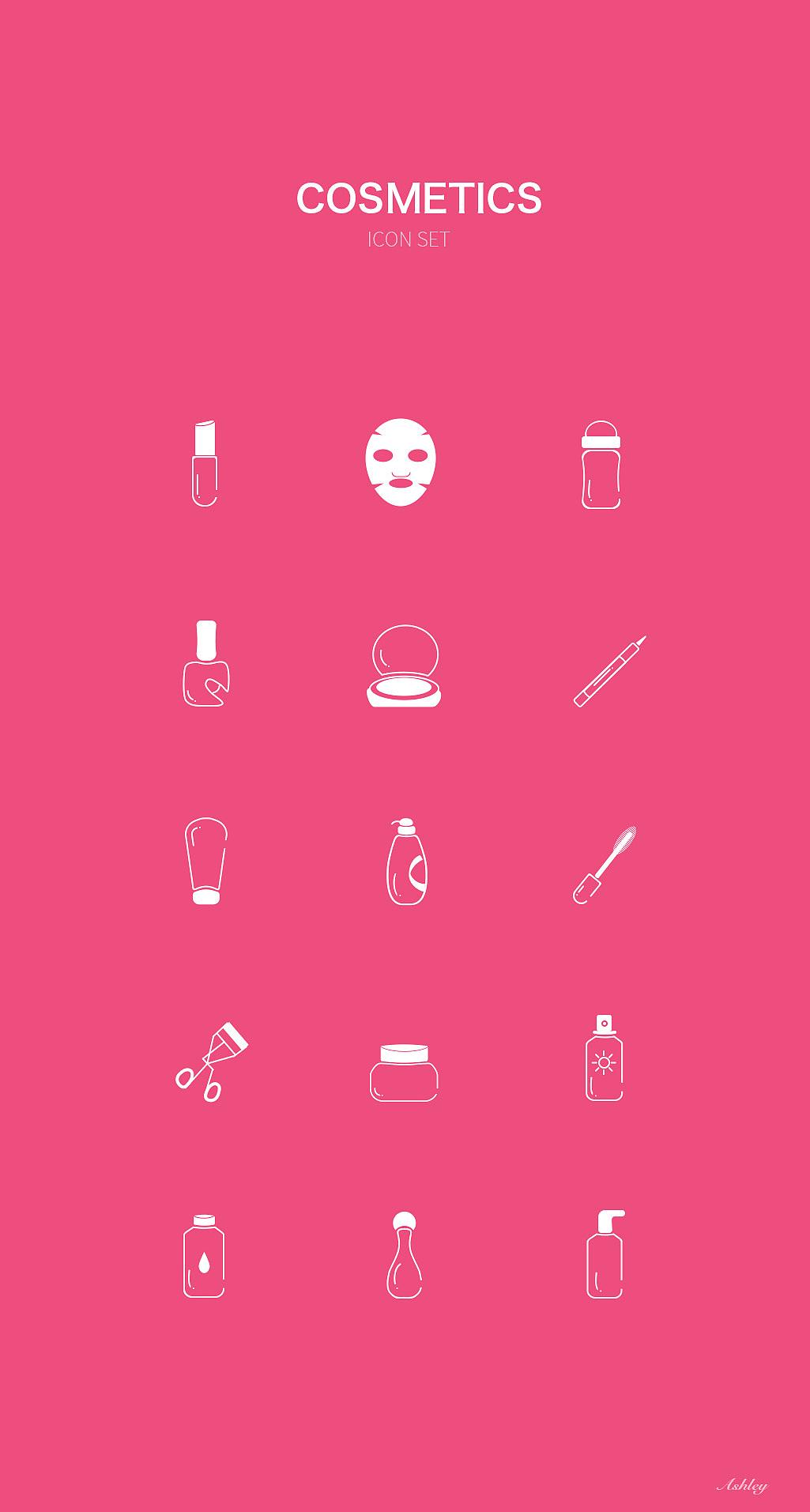 美妆类icon图片