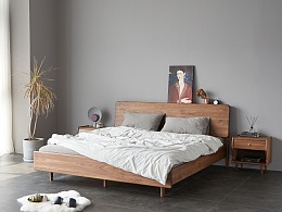 恬家双人床 | 原创设计