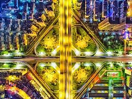 夜·春城—上帝视角