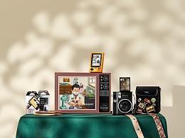 富士instax mini40 一世风靡礼盒