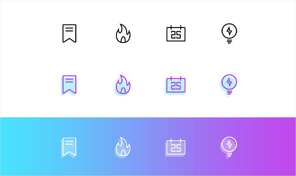 资讯图标_资讯APP--图标|UI|图标|ninceer - 原创作品 - 站酷 (ZCOOL)