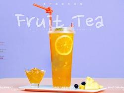 茶饮料 | Juicybar 饮品 饮料 奶茶 奶盖 摄影 海报