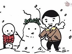 是因为喜欢下雪还是因为怀念