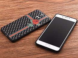 手机壳皮纹印花