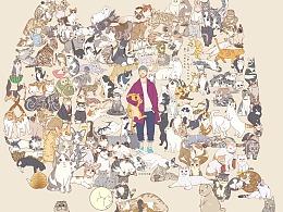 吸猫的日更-第三季 吸猫199天了。