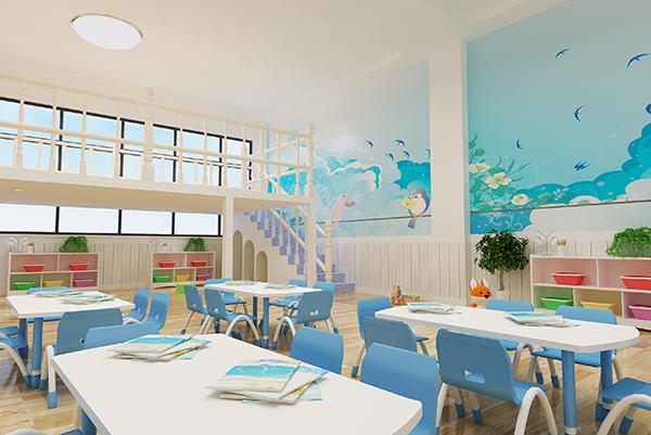 幼儿园效果图 分享一下 地中海风格图片
