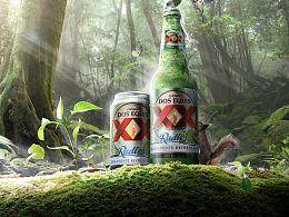 创意合成《啤酒海报》含素材