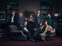 SHERLOCK SEASON FOUR 神探夏洛克4 系列海报
