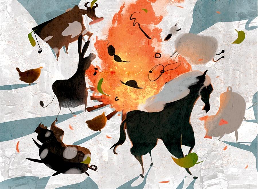 查看《百词斩阅读计划-《动物庄园》封面以及插图》原图,原图尺寸:2336x1708