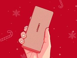 圣诞FACEBOOK 推广图-ugreen移动电源 -西班牙语
