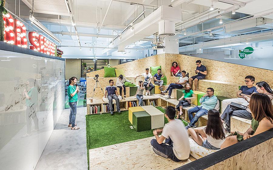办公 · 办公空间设计_华空间 市集办公室