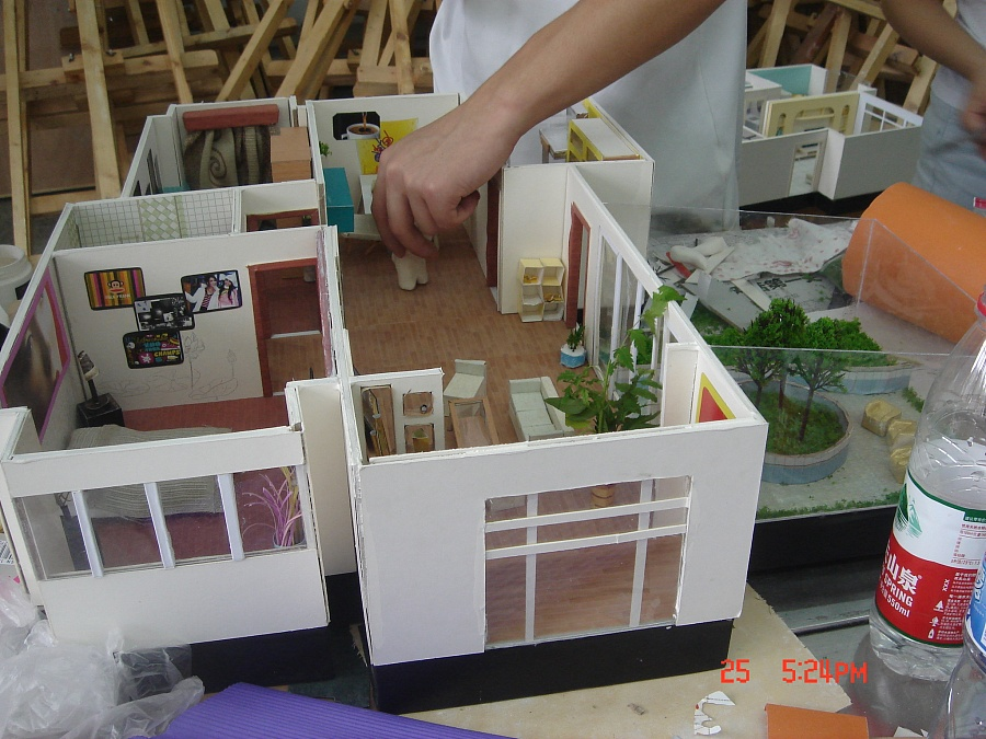 室内设计模型v模型 建筑/空间 三维 责任-原创设建筑设计狐裘终身制图片