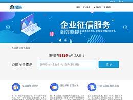 诚易成企业征信系统网页设计