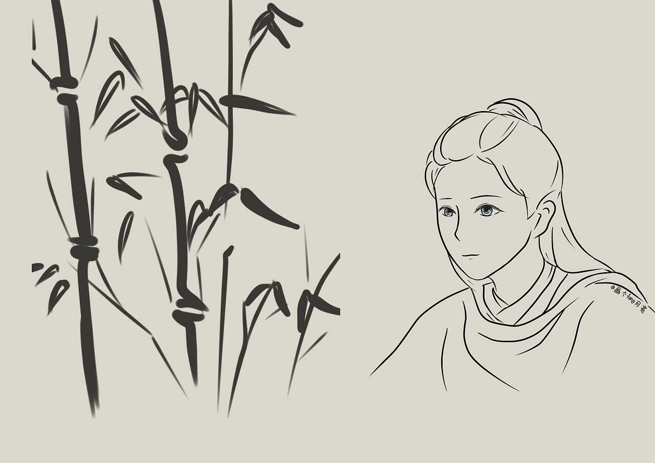 古风鹿晗陈长生|动漫|肖像漫画|fang月亮 - 原创作品