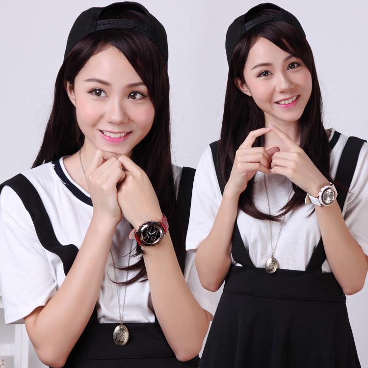 手表韩国风模特拍摄 模特饰品眼镜手表拍摄