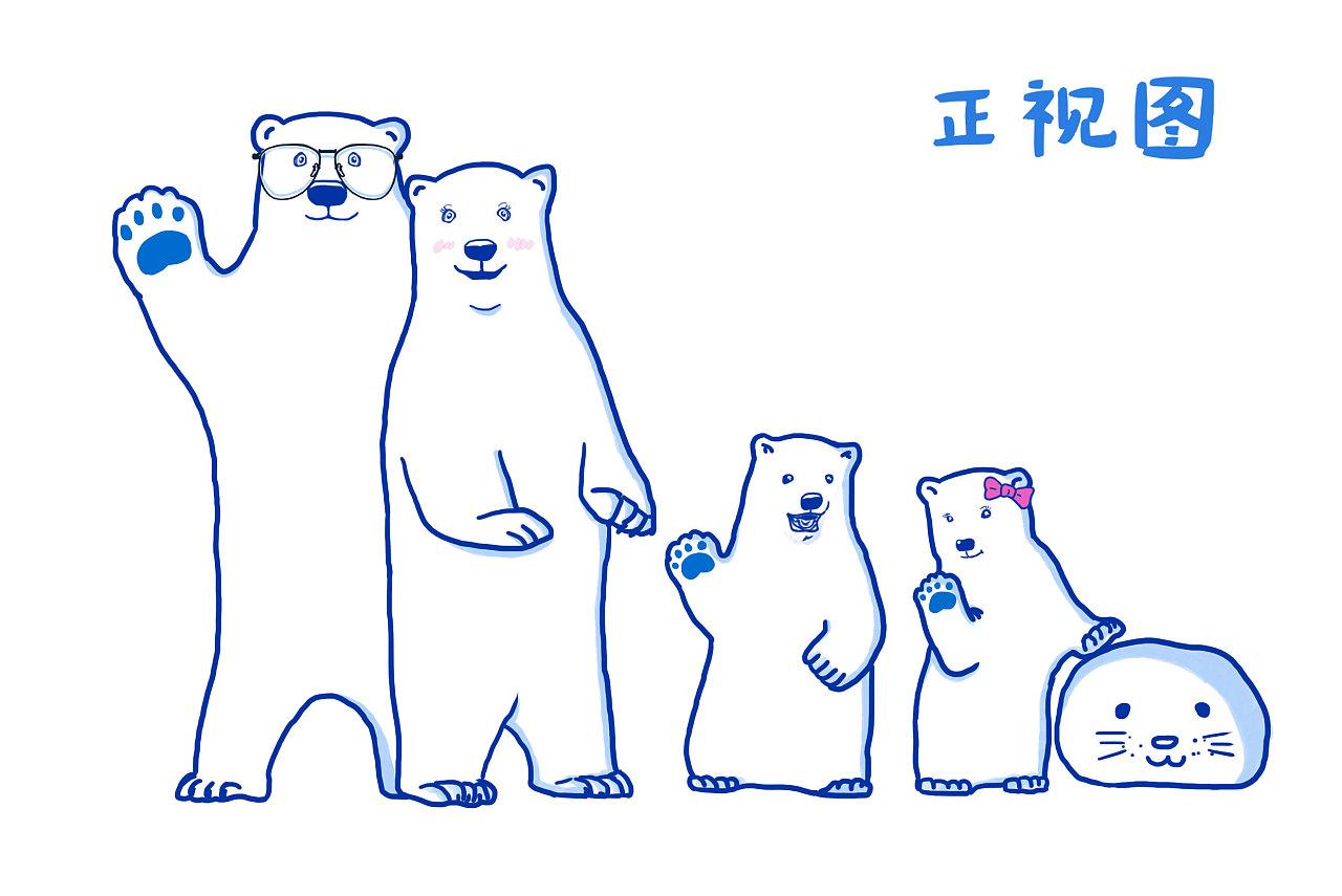 小熊简笔画图片大全_小熊笔画图片大全