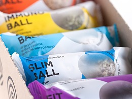 Healthy Ball Candy / Brand Identity, Packaging