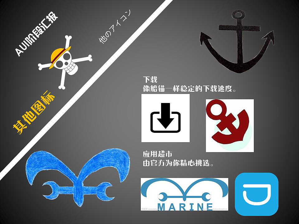 海贼王主题手绘图标