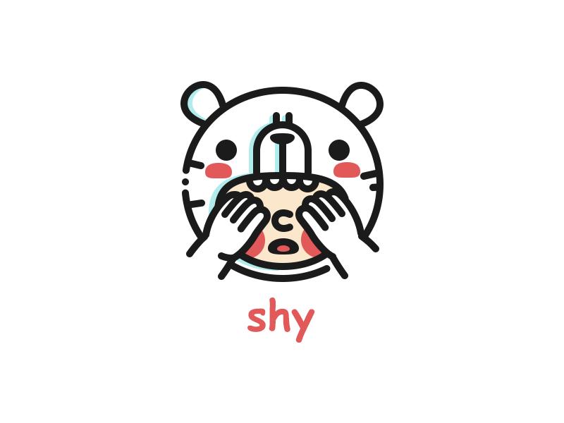 熊熊插画|表情围观|表情|Pandiozeze-原创设插画包习作gif图片