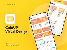 CoinUP数字货币项目 UI DESIGN