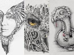 三张鸟图2——烟痛