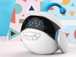 让陪伴更纯粹-儿童智能陪伴型机器人(洛可可设计)
