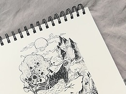 我的素描本 手绘向