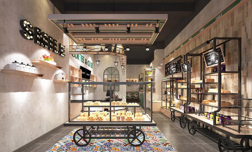 ——成都蛋糕店装修设计 成都面包房装修设计 成都面包店装修设计图片