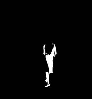 行走的背影