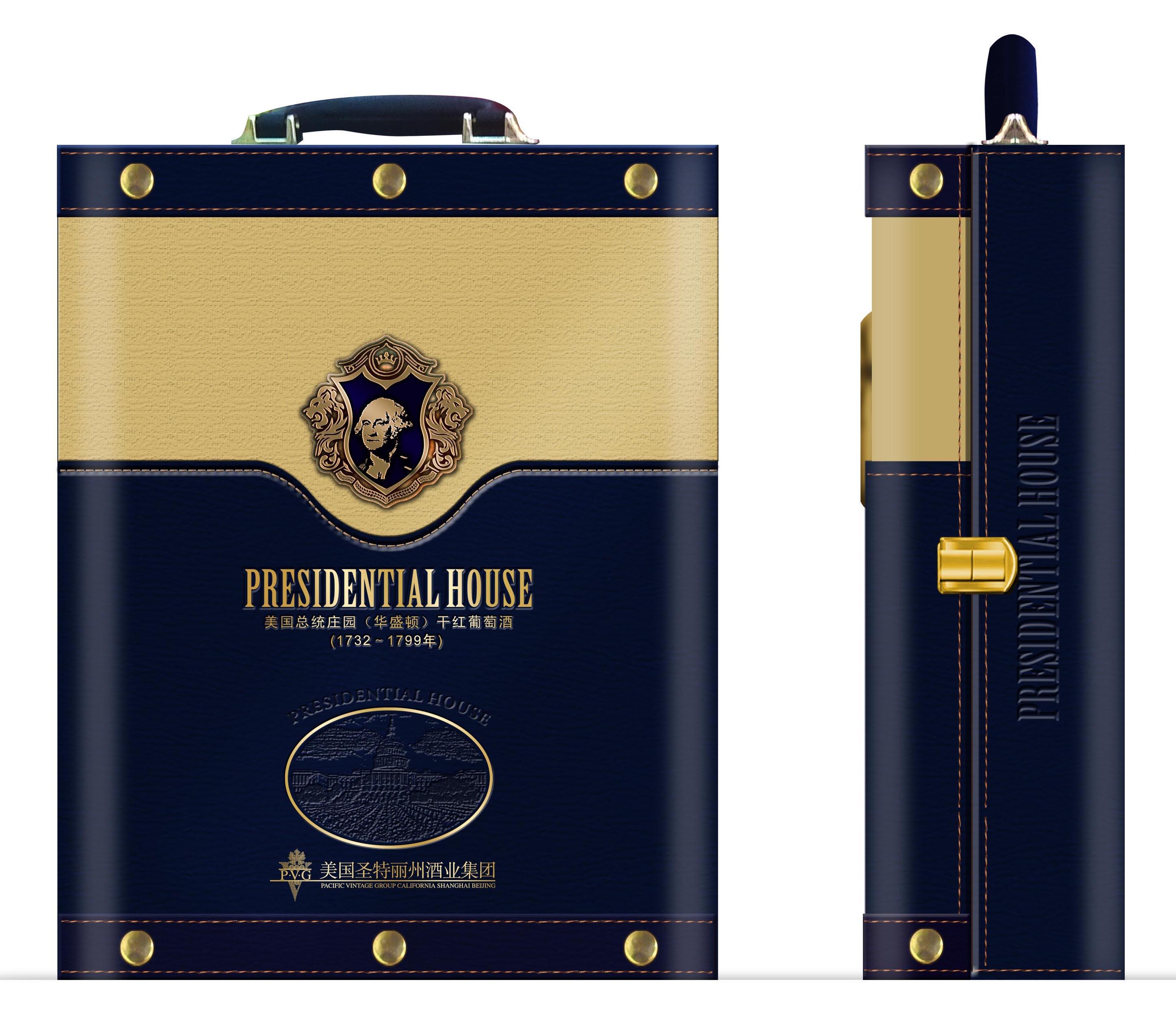 酒包装设计_红酒双支皮盒设计_艺鼎鹏图片