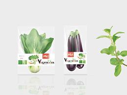 新鲜蔬菜袋装设计