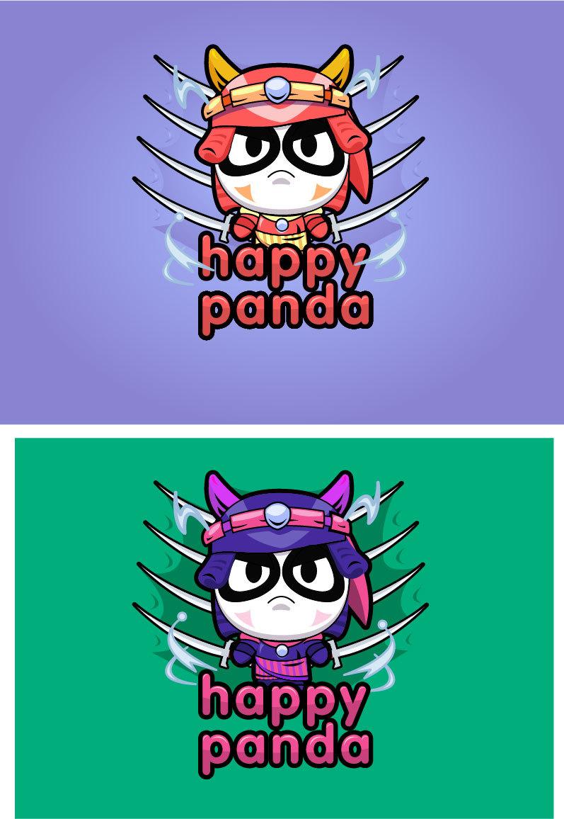卡通熊猫or牛?