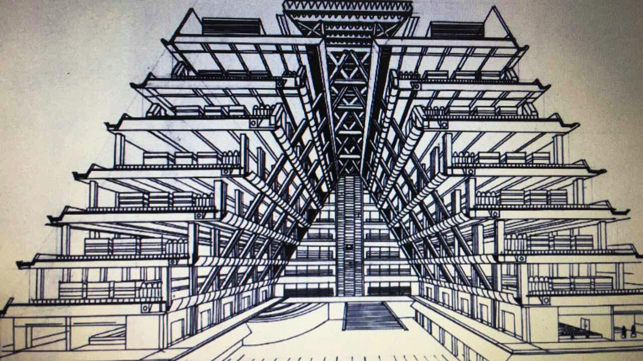 透视原理|空间|建筑设计|lianglizhong - 原创作品