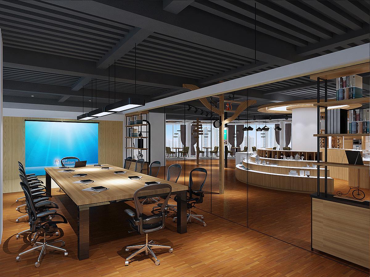 7,照明与取暖更容易,安装费用比封闭式办公室低,并且实践证明图片
