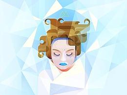 Lorena为产品推广打造人物肖像插画