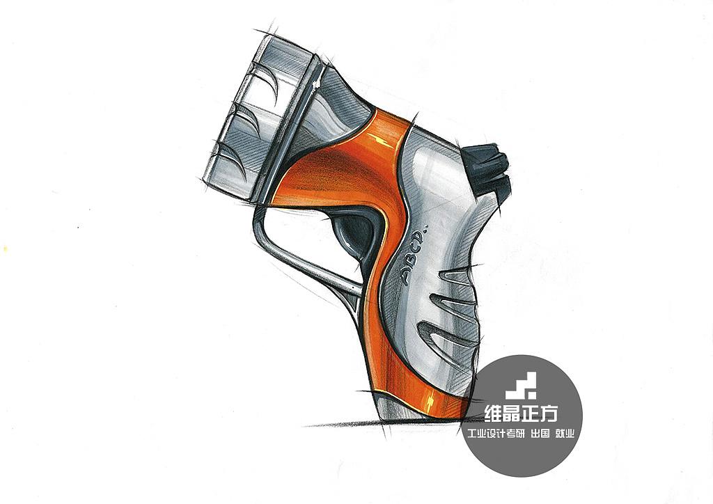 工业设计手绘,产品马克笔表达.