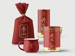 西安新概念品牌设计vis案例 凡草堂