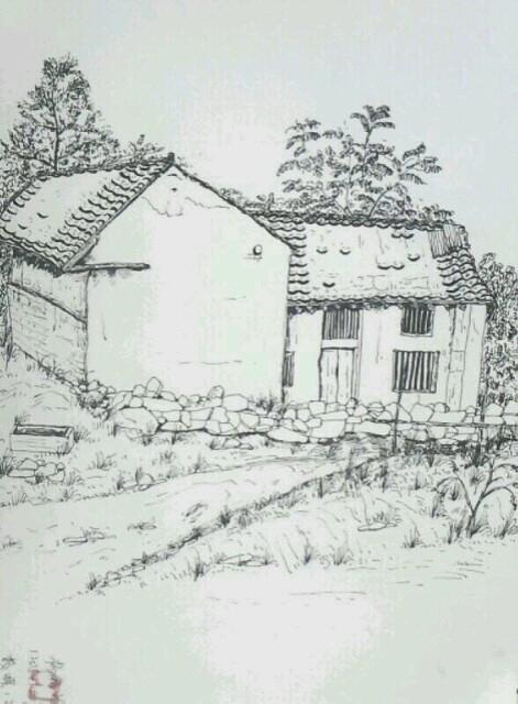 旧房屋速写