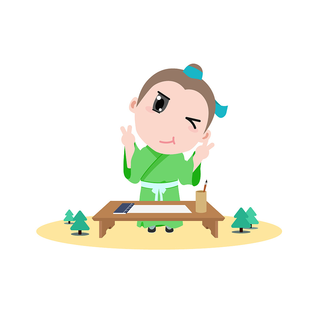 app小书生形象设计图片