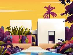 Sajid Home建筑插画