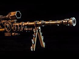 九素(北京)原创机械装置雕塑---枪火系列III