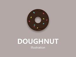 甜甜圈 插画/动画设计