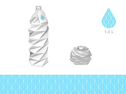 矿泉水 - 包装设计 - Logo设计