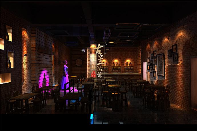 绵竹复古酒吧装修设计 双流198 PUB酒吧设计