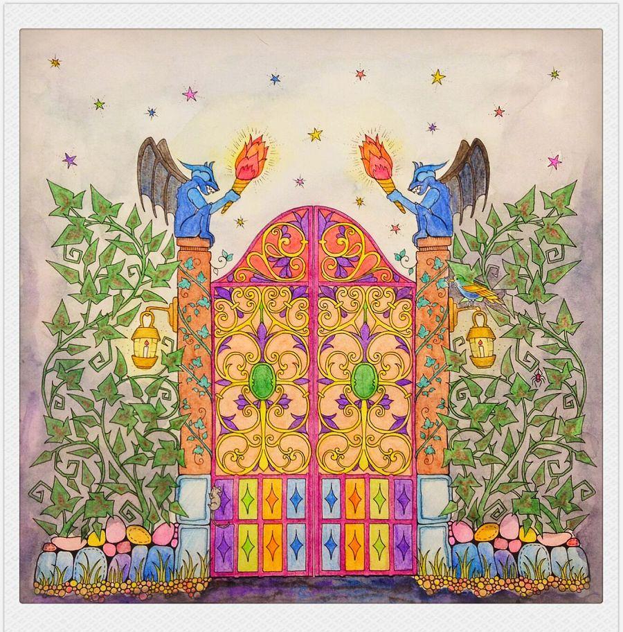 手绘,秘密花园,魔法森林|彩铅|纯艺术|糊涂虫dd