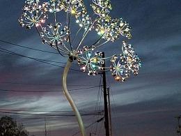 户外景观灯光装置方案设计 铭星工厂专业定制生产