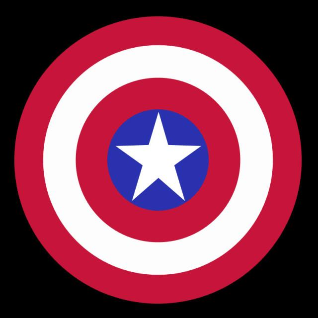 美国队长的盾牌|图形/图案|平面|zxwandhy