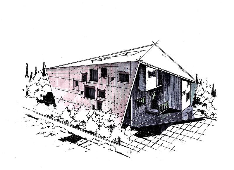 建筑手绘马克笔上色步骤图