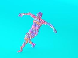 方块舞动小人视频设计制作
