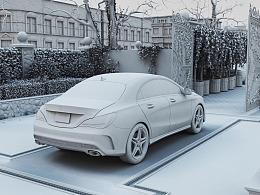 汽车渲染 | 小林同学的作业练习